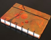 2011 Bookwright calendar with orange marbled covers