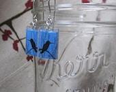 Humbird Blue Earrings