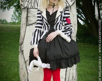 Gloomth's Haunted Circus Ringmaster Corset Jacket