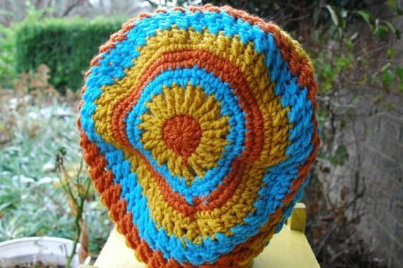 70s Color Rasta Style Hat