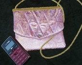Elegant Pink Evening Bag