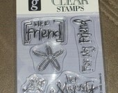 Friends Clear Stamp Set