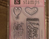 Heart Clear Stamp Set