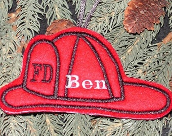 Fireman's Hat Ornament