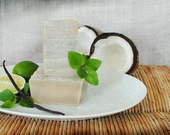 Coconut Lime Verbena Goat Milk Soap