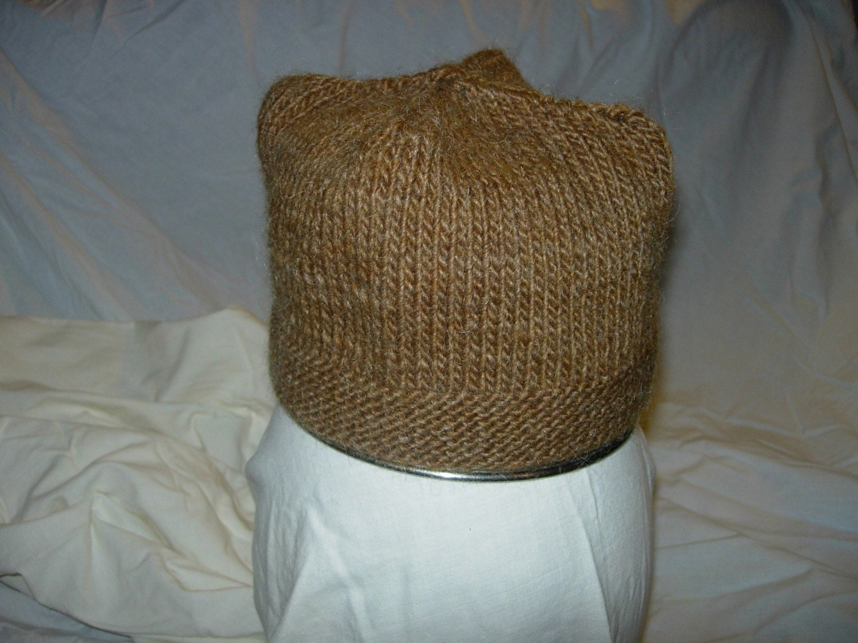 Knitting A Hat Flat : Flat top hat knitting pattern