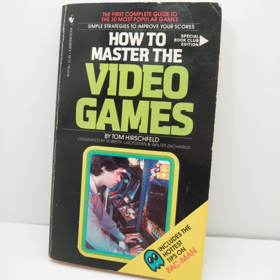 Book - How to Master the Video Games - 1980s Nerd Geekery