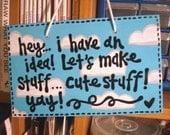 Cute Stuff Wall Hanging