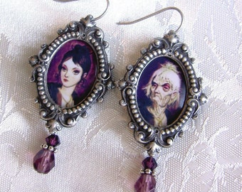 April - December - A Certain Famous Changing Portrait - Earrings - Updated