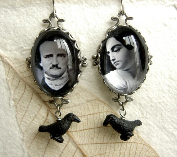 Gothic Couple Series....Edgar Allen and Virginia Poe