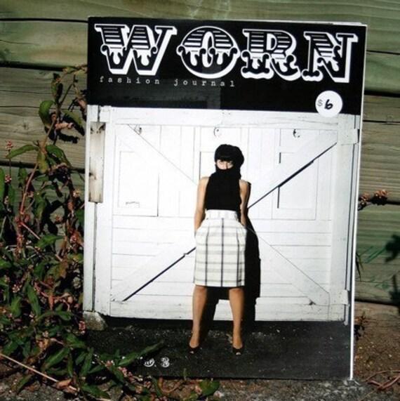Worn Fashion Journal issue 3 - zine