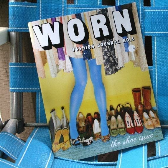 issue no.8 SHOE THEME Worn Fashion Journal