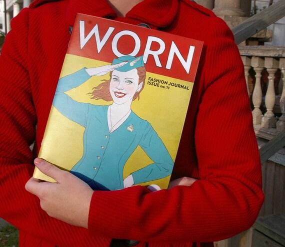 issue no.11 WORN Fashion Journal