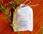 Eco Favor Boho Chic Vintage Inspired Wedding Seed Bombs - Personalized DIY Guerrilla Gardening Flowers