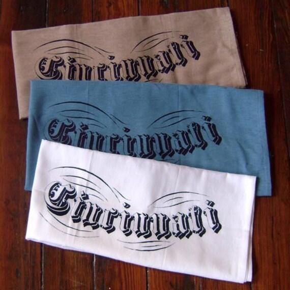 Cincinnati Floursack Towel