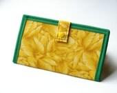CLEARANCE - Yellow Iris Wallet