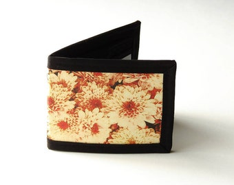 Vegan Friendly Billfold Wallet - Mums // Photo Fabric Collection