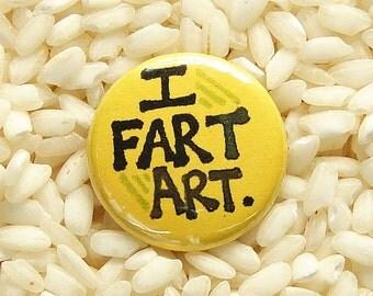 I Fart Art Button