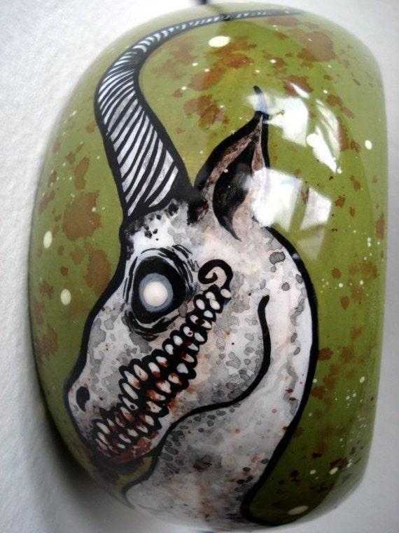 Demon Unicorn Bangle Large Bracelet