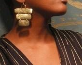 Three Tiered Earrings