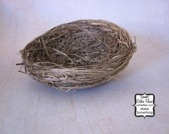 "Birds Nest - 3"" wide - Natural Fiber"