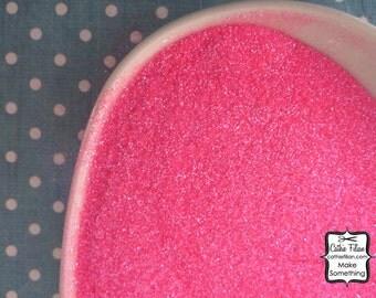 Neon Pink Glitter - Ultra Fine - Semi-Transparent Art - Ultrafine - Color: Neon Pink