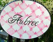 Large Size  Chic French Inspired Bow Holder Custom Personalization
