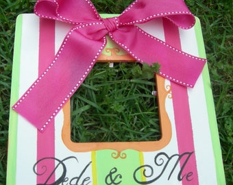 Custom Designed Boutique Frame   Sherbet Splash