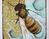 Portrait of a Bee Series- No. 1- GICLEE PRINT-REPRODUCTION