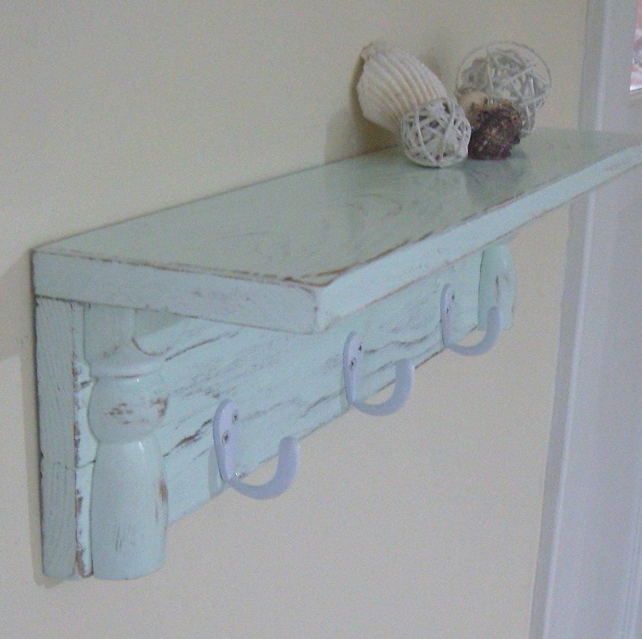 Shabby Shelf Beach Cottage Home Style