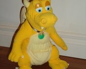 "Dragon Tales RARE plush toy Quetzal 13"""