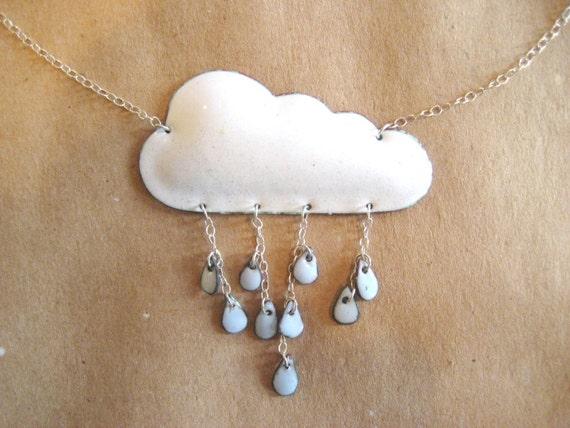 Weather Necklace - Rainy