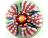 Flower Shank Button