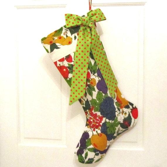 HALF PRICE - Christmas Stocking - Kitchen Towel