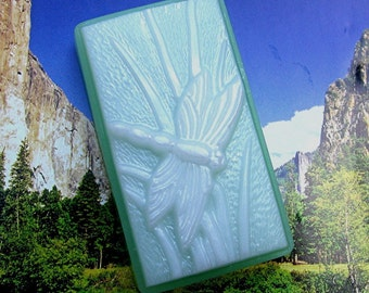Soap. Dragonfly with scent of Butterfly Meadows. All natural glycerin.