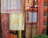 EARTHSONG - Handmade Gypsy Curtains Bohemian Global Hippie Style