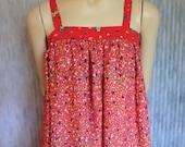 VINTAGE HIPPIE Maxi Summer DRESS Cotton