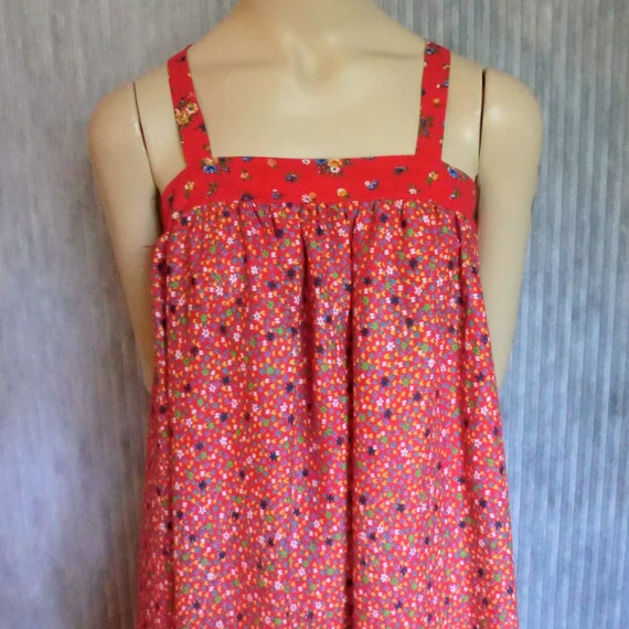VINTAGE HIPPIE Maxi Summer DRESS Cotton