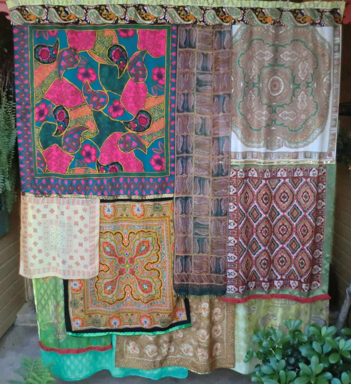 haute hippie handmade gypsy shower curtain