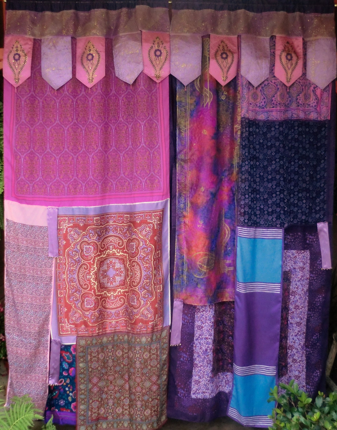 Image Result For Deep Purple Curtains