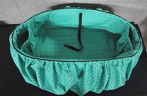 The ORIGINAL Shopping Cart Cover for Dogs/Puppies/Pets in Aqua - Customize your Cart Cover