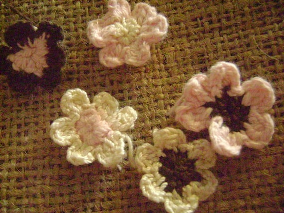 Crochet Flowers (tradable for shopping lists)