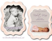 Luxe Birth Announcement PSD Template