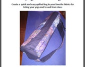 Quilted Yoga Mat Tote Bag Pattern