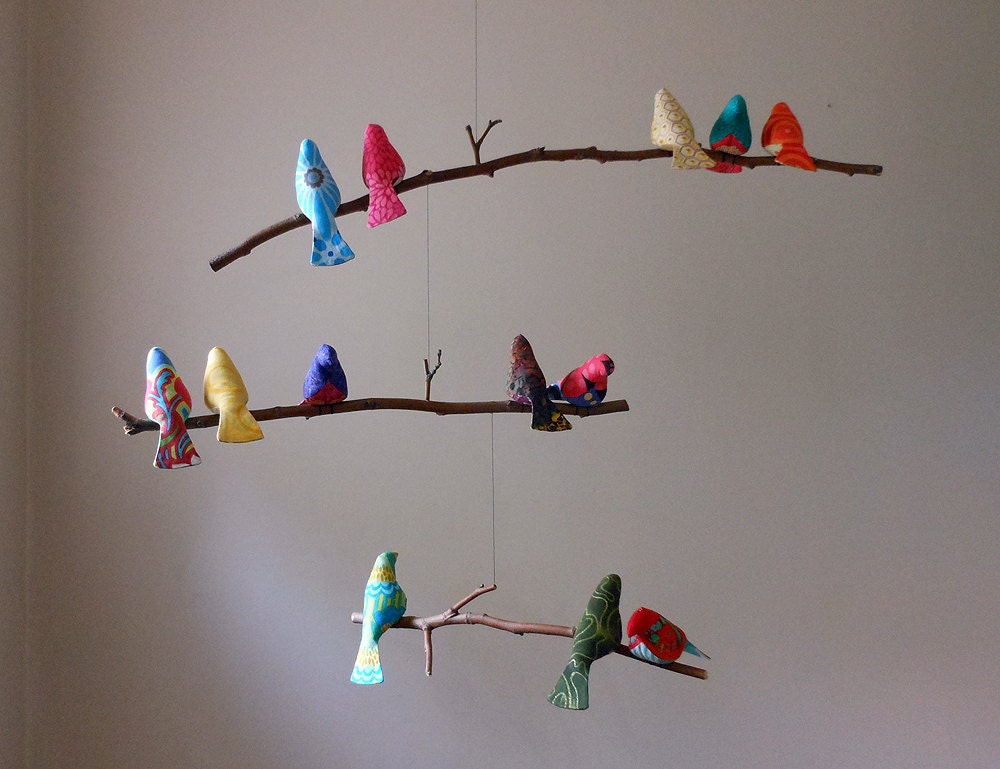 Order a paper bird mobile