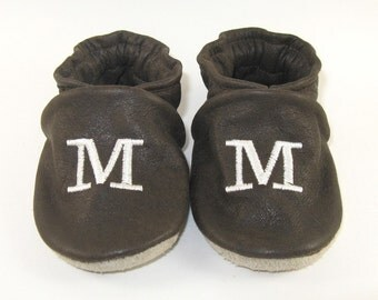 Baby Shoes CUSTOM Made Monogrammed