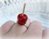 Sweet little candy apple ring