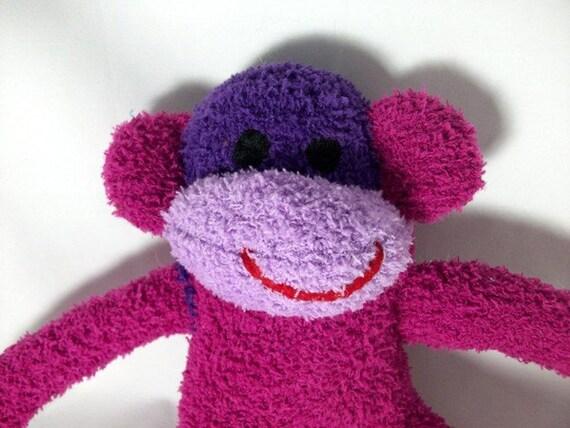 Karisa  the sock monkey Ready to ship