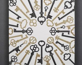 Keys / Black and Gold