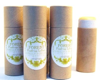 Forest Push-Up Lotion made with organic ingredients